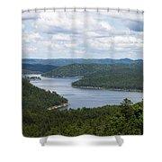 Broken Bow Lake Oklahoma Shower Curtain