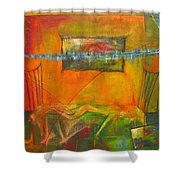 Broken Dream  Shower Curtain