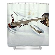 Broken Dreams Shower Curtain