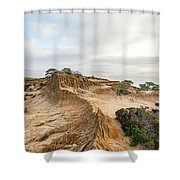 Broken Hill At Sunset Shower Curtain