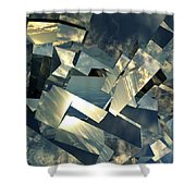 Broken Sky Shower Curtain