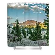 Broken Top, Oregon Shower Curtain