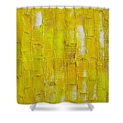 Broken  Yolk Shower Curtain