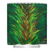 Bromeliad Alight Shower Curtain