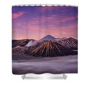 Bromo Shower Curtain