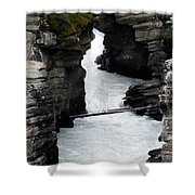 Bronc Falls Shower Curtain