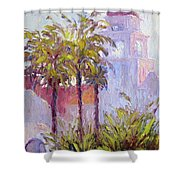 Bronson Mansion Shower Curtain