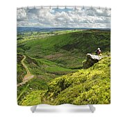 Bronte Country   Yorkshire England Shower Curtain