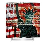 Bronx Graffiti - 4 Shower Curtain