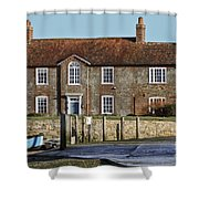 Brook House Bosham Shower Curtain