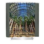 Brookfield Place Atrium - N Y C # 2 Shower Curtain