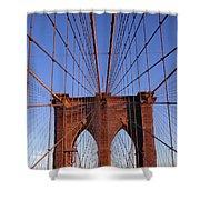 Brooklyn Bridge Shower Curtain by Brooklyn Bridge