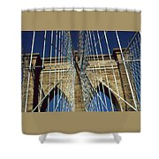 Brooklyn Bridge New York City Shower Curtain