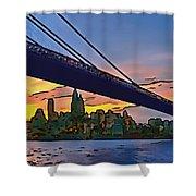Brooklyn Bridge Collection - 2 Shower Curtain