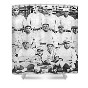 Brooklyn Dodger Champions Shower Curtain