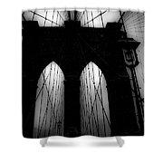 Brooklyn Mist Shower Curtain