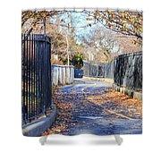 Brooklyn Park In Fall Shower Curtain