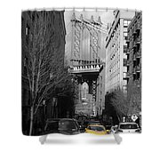 Brooklyn Taxi Shower Curtain