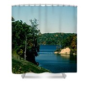 Brookville Lake Brookville Indiana Shower Curtain