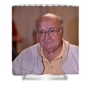 Brother Kenneth Shower Curtain