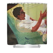 Brother Of Summer Shower Curtain