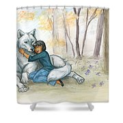Brother Wolf - Dream Shower Curtain