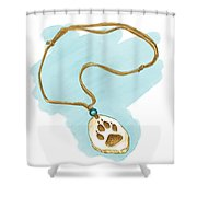 Brother Wolf - The Necklace Shower Curtain