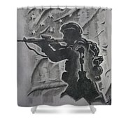 Brothers Memory Shower Curtain