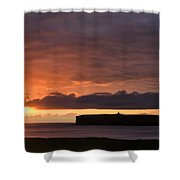 Brough Of Birsay Sunset Shower Curtain