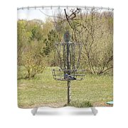 Brown Park Disc Golf Course Shower Curtain