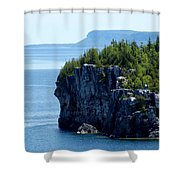 Bruce Peninsula National Park Shower Curtain by Cale Best