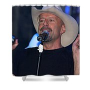 Bruce Willis Shower Curtain