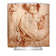 Bruegel: Painter, 1565 Shower Curtain