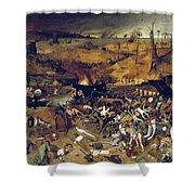 Bruegel: Triumph Of Death Shower Curtain