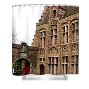 Bruges 10 Shower Curtain