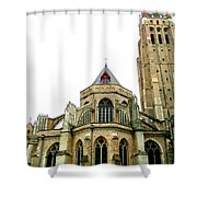 Bruges 16 Shower Curtain
