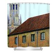 Bruges 18 Shower Curtain