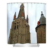 Bruges 20 Shower Curtain