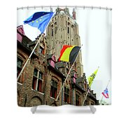 Bruges 22 Shower Curtain