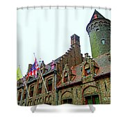 Bruges 24 Shower Curtain