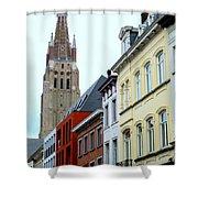 Bruges 3 Shower Curtain