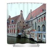 Bruges 4 Shower Curtain