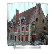 Bruges 5 Shower Curtain