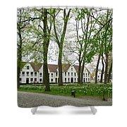 Bruges Begijnhof 1 Shower Curtain