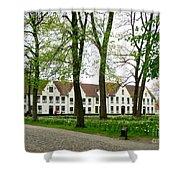 Bruges Begijnhof 2 Shower Curtain