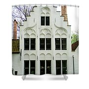 Bruges Begijnhof 3 Shower Curtain
