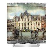 Bruges, Belgium Shower Curtain