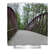 Bruges Bridge 1 Shower Curtain