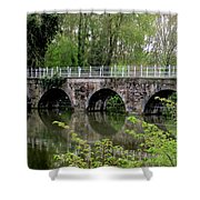 Bruges Bridge 2 Shower Curtain