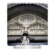 Bruges Detail 5 Shower Curtain